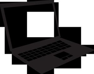 ノートパソコンイラスト