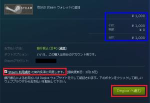 steamウォレット銀行振込3