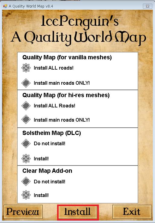 A Quality World Map Skyrim