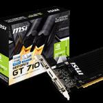 NVIDIA GeForce GT710を搭載した超低消費電力のグラボをMSIが発売